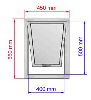 Tende abbaini finestre per tetti lucernari pvc - Altezza di una finestra ...
