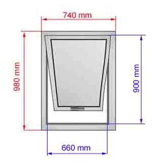 Tende abbaini apertura a bilico finestre per tetti for Finestre velux misure standard