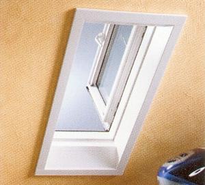 Tende abbaini apertura a battente uscita sul tetto finestre per tetti lucernai pvc - Tende finestre pvc ...